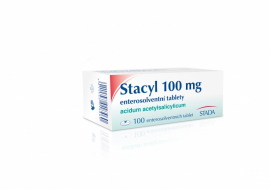 STACYL 100 MG ENTEROSOLVENTNÍ TABLETY