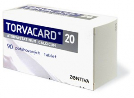 TORVACARD 20