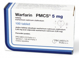WARFARIN PMCS 5 MG