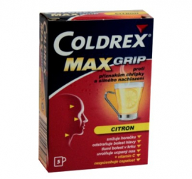 COLDREX MAXGRIP CITRON